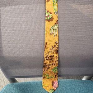 Nicole Miller skinny neck tie